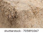packed sand with focus on a... | Shutterstock . vector #705891067