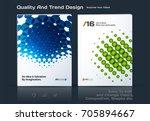 design of business vector... | Shutterstock .eps vector #705894667