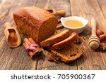 gingerbread cake | Shutterstock . vector #705900367