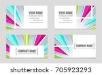 abstract vector layout... | Shutterstock .eps vector #705923293