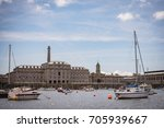 royal william yard in plymouth  ... | Shutterstock . vector #705939667