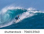 kite surfer rides among the...   Shutterstock . vector #706013563
