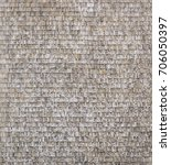 wall covered in small tiles...   Shutterstock . vector #706050397