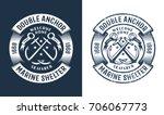 Round Nautical Logo  Tattoo...