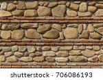 fences and walls of houses are... | Shutterstock . vector #706086193
