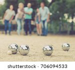 portrait of friendly people... | Shutterstock . vector #706094533