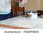 making pies | Shutterstock . vector #706094803