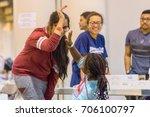 houston  texas  august 30  2017 ... | Shutterstock . vector #706100797