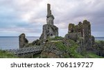 the ruins of castle sinclair...