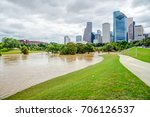 downtown houston at daytime...   Shutterstock . vector #706126537