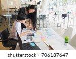 supervisors are advisory staff...   Shutterstock . vector #706187647