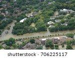 hurricane harvey impacts | Shutterstock . vector #706225117