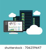 decision support system. dss.... | Shutterstock .eps vector #706259647