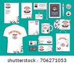 japanese sushi corporate...   Shutterstock .eps vector #706271053