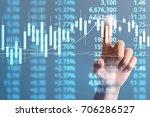 businessman plan graph growth... | Shutterstock . vector #706286527