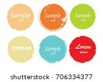 grunge post stamps collection ... | Shutterstock .eps vector #706334377