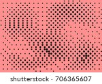 abstract halftone dotted grunge ...   Shutterstock .eps vector #706365607