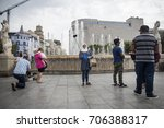 barcelona  spain   august 16 ... | Shutterstock . vector #706388317