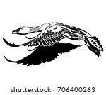 vector illustration of black... | Shutterstock .eps vector #706400263