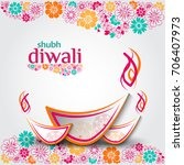 diwali sale  diwali special... | Shutterstock .eps vector #706407973