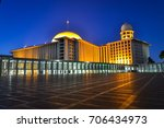 istiqlal mosque   the biggest... | Shutterstock . vector #706434973