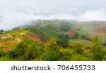mountain road at phu tubberk ...   Shutterstock . vector #706455733