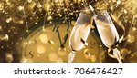 new year's eve celebration... | Shutterstock . vector #706476427