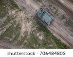 transporter on the military...   Shutterstock . vector #706484803