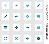 user colorful icons set....