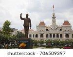 ho chi minh city  vietnam  ... | Shutterstock . vector #706509397