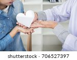 charity  health care  donation... | Shutterstock . vector #706527397