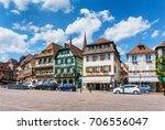 obernai  france   july 17  2017 ...   Shutterstock . vector #706556047