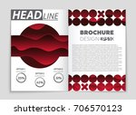 abstract vector layout... | Shutterstock .eps vector #706570123