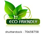 illustration of icon for eco... | Shutterstock .eps vector #70658758