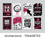 set of templates banners for...   Shutterstock .eps vector #706608703