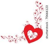 love frame | Shutterstock .eps vector #70666123