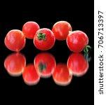 Kaleidoscope Of Tomatoes On A...