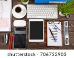 business accounting  | Shutterstock . vector #706732903