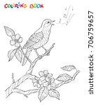 spring garden composition. a... | Shutterstock .eps vector #706759657