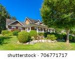 luxury house in vancouver ... | Shutterstock . vector #706771717