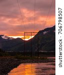 Small photo of Alaskan Sunset 08/25/17