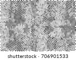 halftone radial black and white.... | Shutterstock . vector #706901533
