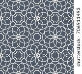 geometric seamless pattern....   Shutterstock .eps vector #706911493