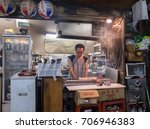 tokyo  japan   30th august ... | Shutterstock . vector #706946383
