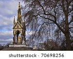 the prince albert memorial in...