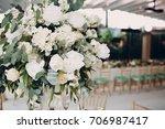 wedding decor | Shutterstock . vector #706987417