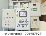 controller box equipment...   Shutterstock . vector #706987927