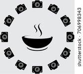 soup vector icon   Shutterstock .eps vector #706998343