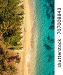White Sandy Beach Of Hawaii