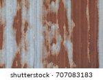 Rusty Metal Roof.